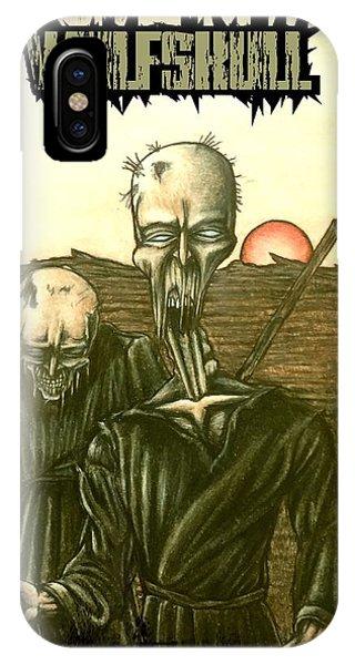 Wulfskull #1 IPhone Case