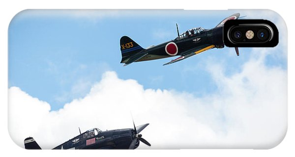 Ww II Dogfight Phone Case by Brian Knott Photography