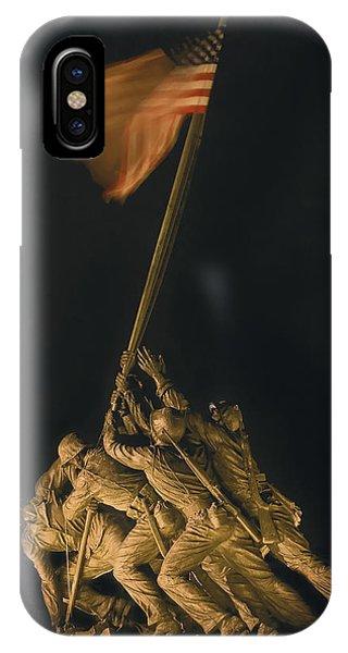 Iwo Jima Remembrance IPhone Case