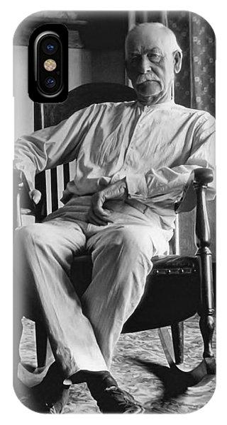 Ok iPhone Case - Wyatt Earp 1923 - Los Angeles by Daniel Hagerman