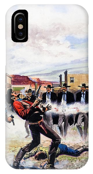 Quick iPhone Case - Wyatt Earp And The Battle Of The Ok Corral by English School