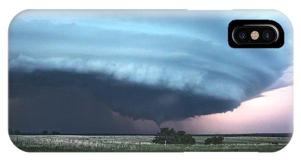 Wynnewood Tornado IPhone Case