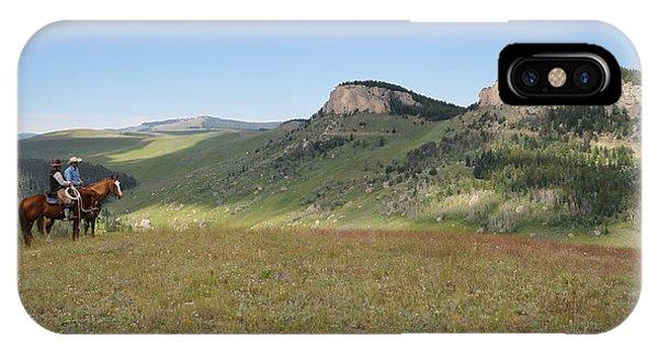 Wyoming Bluffs IPhone Case