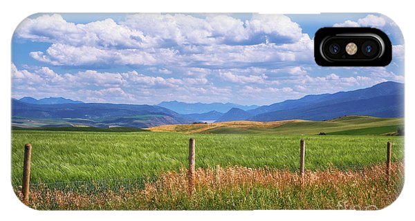 IPhone Case featuring the photograph Wyoming Landscape by Sharon Seaward