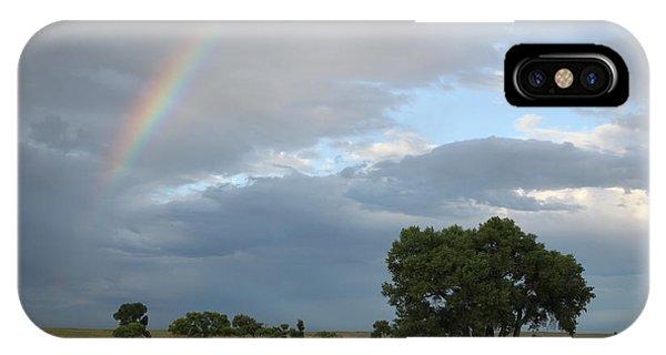 Wyoming Rainbow IPhone Case