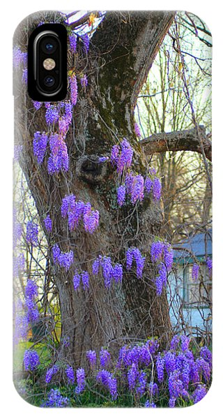 Wysteria Tree IPhone Case