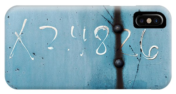 X 2.4826 ...slate Blue IPhone Case