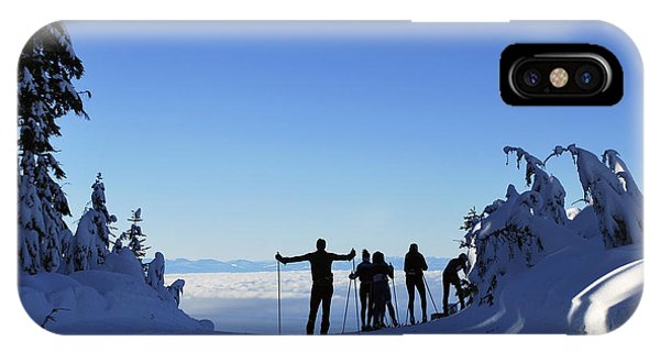 X-country Skiing  IPhone Case