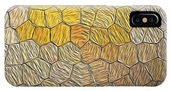 X-mas Tiles IPhone Case