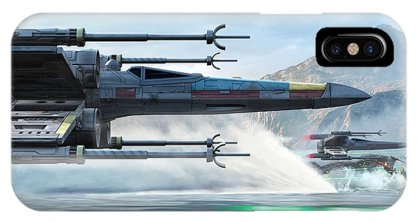 X-wing Full Throttle  IPhone Case
