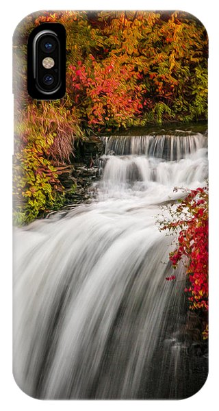 Fall At Minnehaha Falls IPhone Case