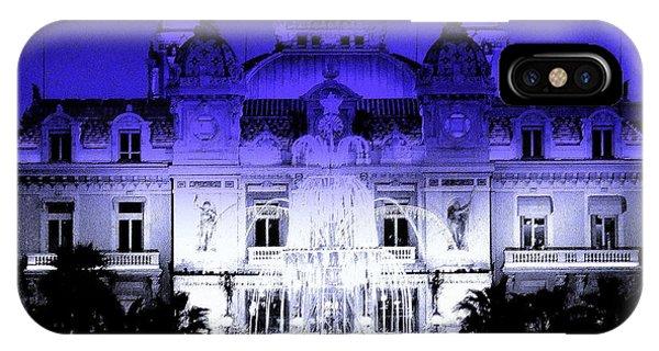 Xmas In Monaco IPhone Case