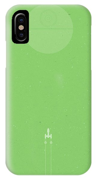 Wings iPhone Case - Y-wing Bombing Run by Samuel Whitton