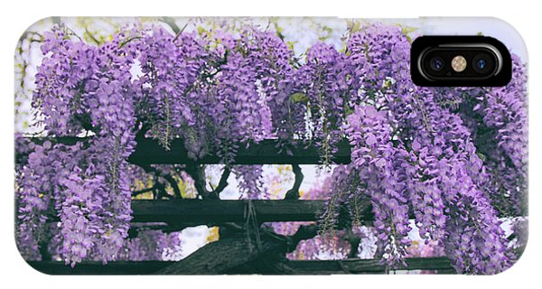 Trestle iPhone Case - Winsome Wisteria by Jessica Jenney