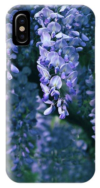 Dark Violet iPhone Case - Twilight Wisteria  by Jessica Jenney