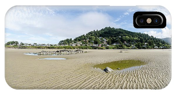 Yachats River At Low Tide IPhone Case