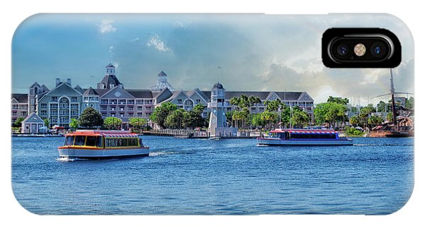 Yacht And Beach Club Walt Disney World IPhone Case