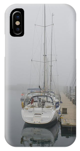 Yacht Doesn't Go In The Fog IPhone Case