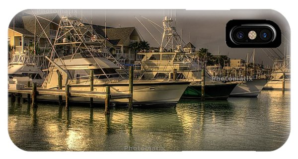 Yachts In Hdr IPhone Case