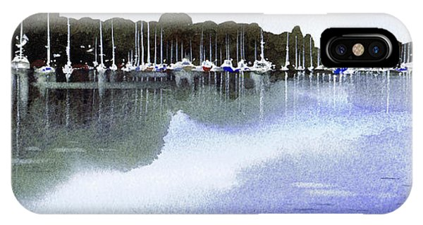 iPhone Case - Yachts Tarbert Iv by Paul Dene Marlor