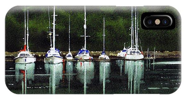 iPhone Case - Yachts Tarbert V by Paul Dene Marlor