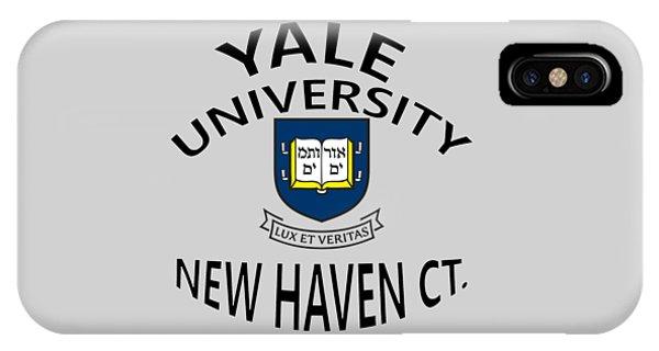 Yale University New Haven Connecticut  IPhone Case