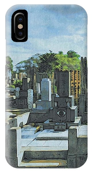 Yanaka Cemetery IPhone Case