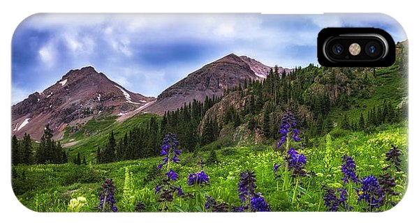 IPhone Case featuring the photograph Yankee Boy Basin by Bitter Buffalo Photography