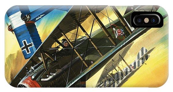 Wwi iPhone Case - Yankee Super Ace Edward Rickenbacker by Wilf Hardy