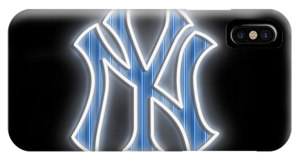 New Trend iPhone Case - Yankees Neon Sign by Ricky Barnard