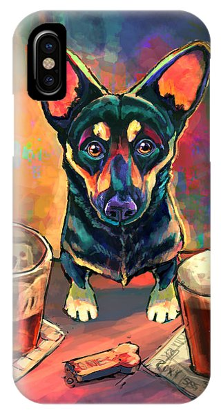 Happy iPhone Case - Yappy Hour by Sean ODaniels