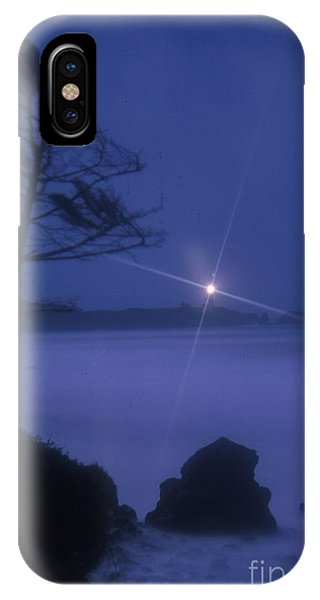 Yaquina Head At Night IPhone Case
