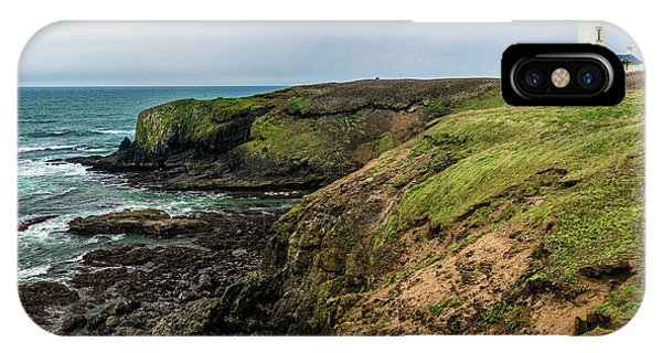 Yaquina Head Light IPhone Case