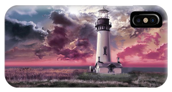 Yaquina Head Lighthouse 2 IPhone Case