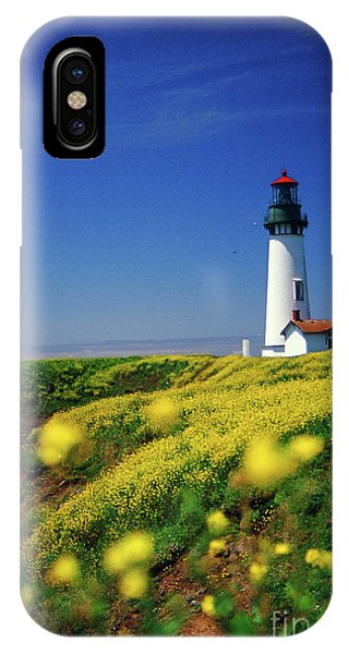 Yaquina Head Lighthouse- V2 IPhone Case