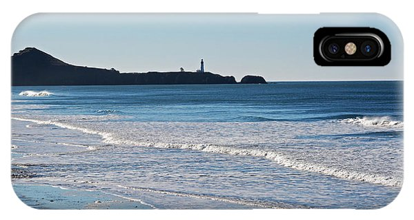 Yaquina Lighthouse And The Pacific IPhone Case