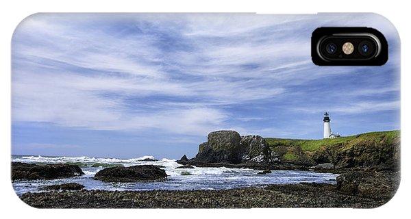 Yaquina Lighthouse IPhone Case