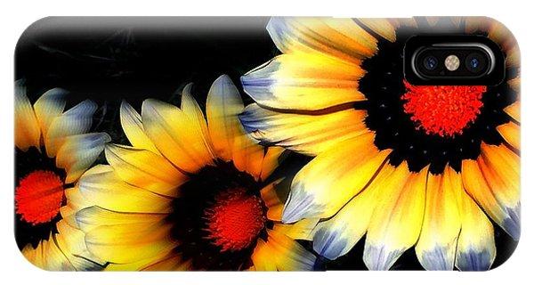Yard Flowers IPhone Case