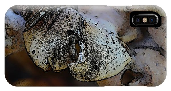 Yard Mushrooms IPhone Case