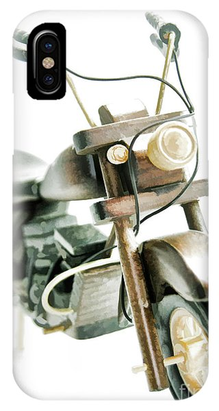 Yard Sale Wooden Toy Motorcycle IPhone Case