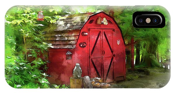 Yard Shed IPhone Case