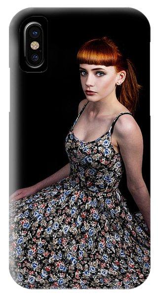 Yasmin Skirt Left IPhone Case