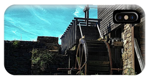 Yates Mill Water Wheel- Artsy IPhone Case