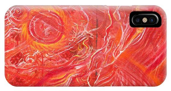 Yaweh El Shaddai Bottom Canvas Detail IPhone Case