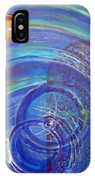 Yaweh El Shaddai Right Canvas Detail IPhone Case