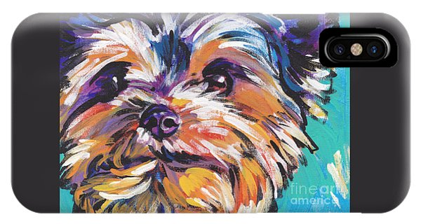 Pet iPhone Case - Yay Yorkie  by Lea S