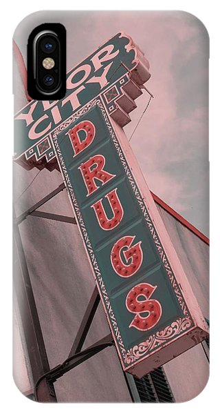 Ben Affleck iPhone Case - Ybor City Drug by Robert Youmans