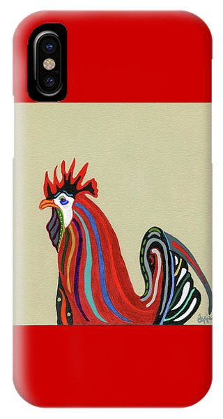 Ybor City Rooster IPhone Case
