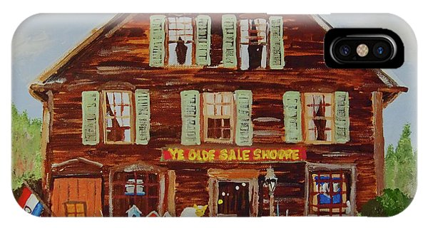Ye Olde Sale Shoppe IPhone Case