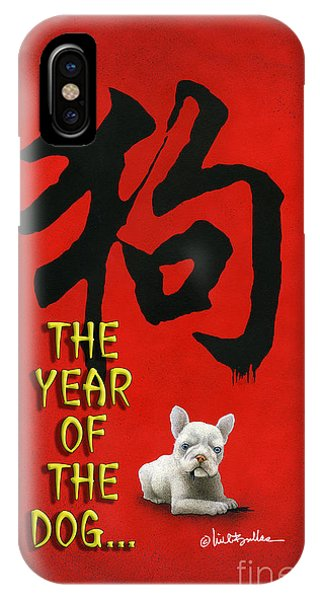 Year Of The Dog ... 2018 IPhone Case